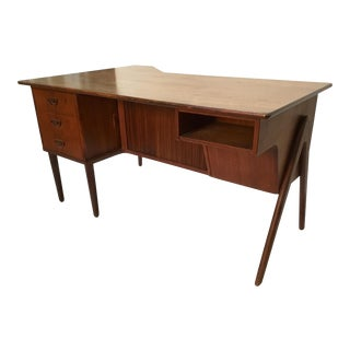 1950s Danish Modern Kai Kristiansen Writing Desk For Sale