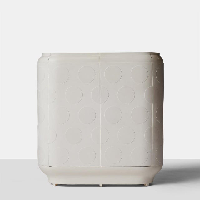 """""""Polka Dot"""" Cabinet by Patrick Schols A unique and completely handmade two-door cabinet by Dutch furniture maker Patrick..."""
