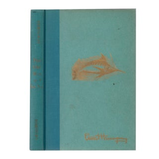 """1952 """"The Old Man and the Sea"""" Collectible Book For Sale"""