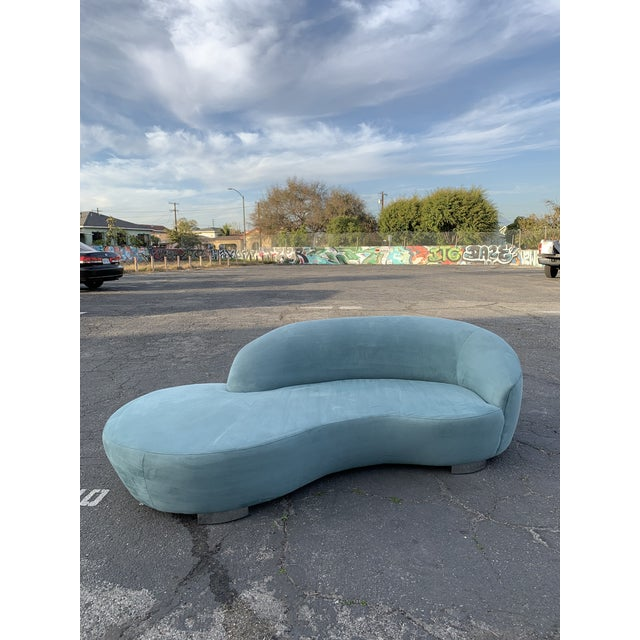1980s Vintage Kagan Style Sofa For Sale - Image 13 of 13