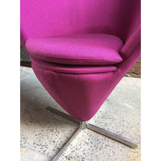 Verner Panton Style Heart Chair For Sale In New York - Image 6 of 8