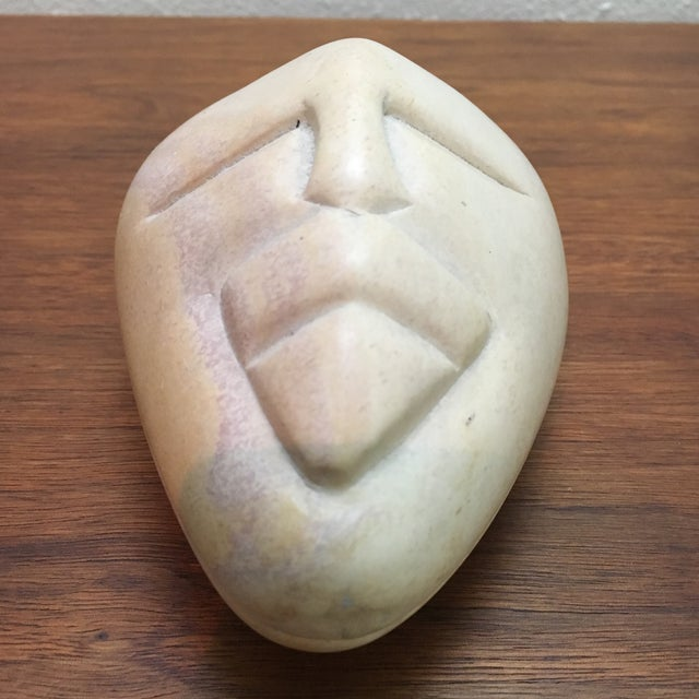 Besmo Hand Carved Kenyan Soapstone Box For Sale In Houston - Image 6 of 7