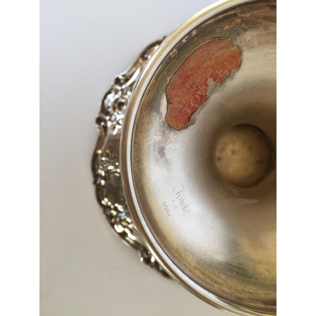 Old Master Towle Silver Pedestal Bowl Candy Dish For Sale In San Francisco - Image 6 of 6
