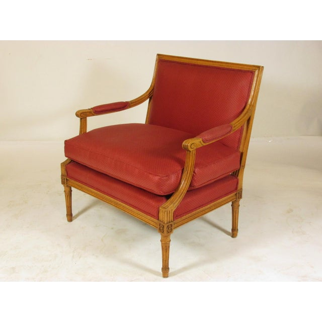 Louis XVI Style Marquis Chairs - a Pair For Sale - Image 4 of 10