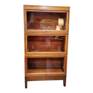 Barrister Bookcase by Stow-Davis 1930's For Sale