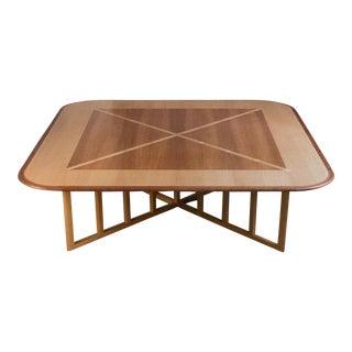 Massive Gwathmey Siegel Commission Coffee Table For Sale