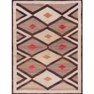 "Antique Navajo Rug- 4'0"" X 5'0"" For Sale"