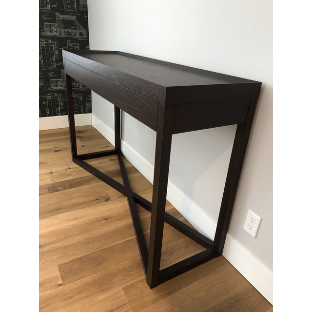 Modern Calvin Klein Console Table With Storage For Sale - Image 10 of 12