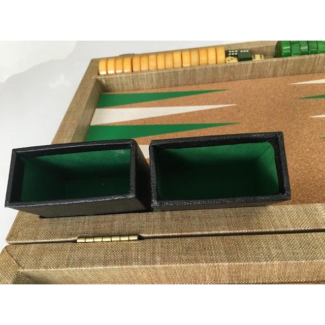 Vintage Backgammon Set - Image 8 of 8
