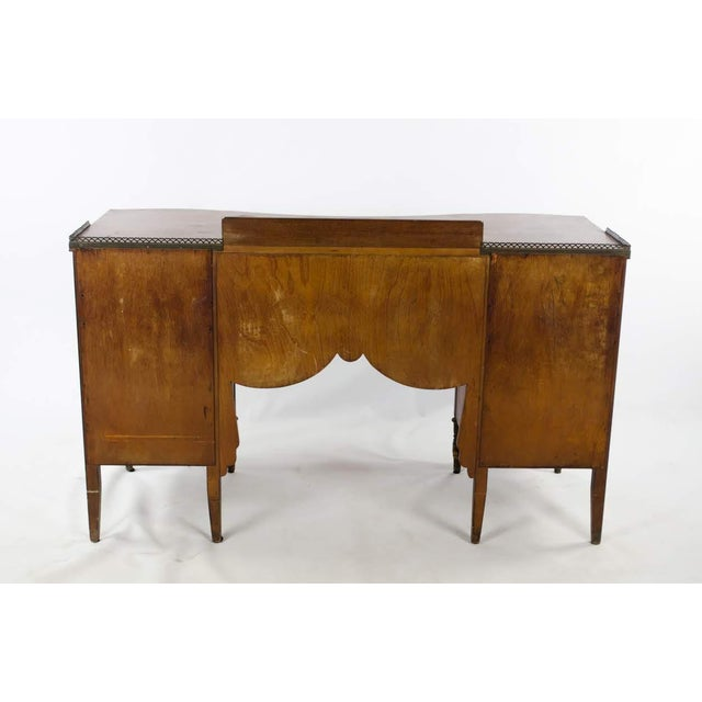 Mid 19th Century Vintage French Provincial Hand Painted Writing Desk For Sale - Image 12 of 13