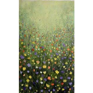 """Flowerfield Three"" Painting"