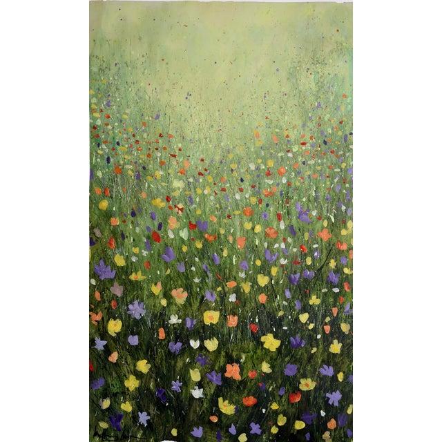 """Flowerfield Three"" Painting - Image 1 of 8"