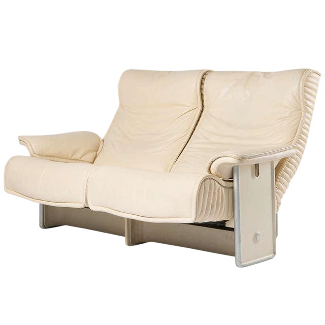 """""""Follow Me"""" Settee by Otto Zapf for Knoll For Sale"""
