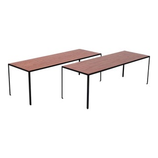 Angle Iron Tables by George Nelson - a Pair For Sale