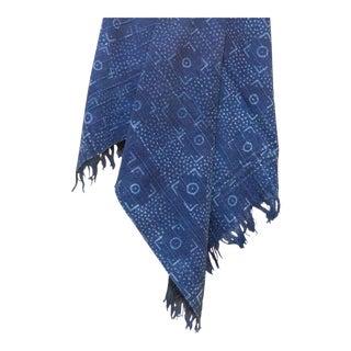 Deni Indigo African Mud Cloth For Sale