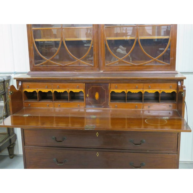 Late 19th C. Georgian Secretary Desk - Image 3 of 5