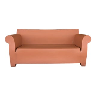 Contemporary Philippe Stark for Kartell Brick Red Outdoor Bubble Sofa