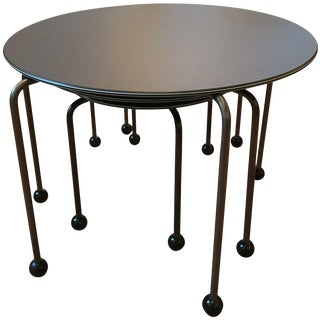 Set of Three Italian Memphis Nesting Tables End Tables For Sale