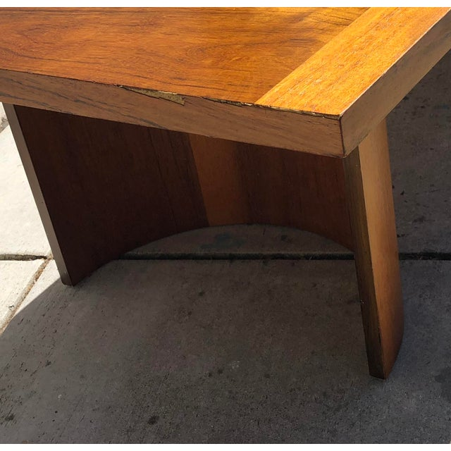 Kroehler Mid-Century Modern Bentwood Base Coffee Table For Sale - Image 10 of 11