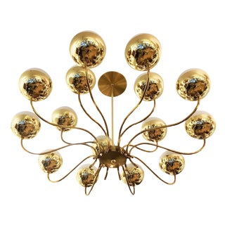 Mid-Century Chandelier in the Style of Stilnovo