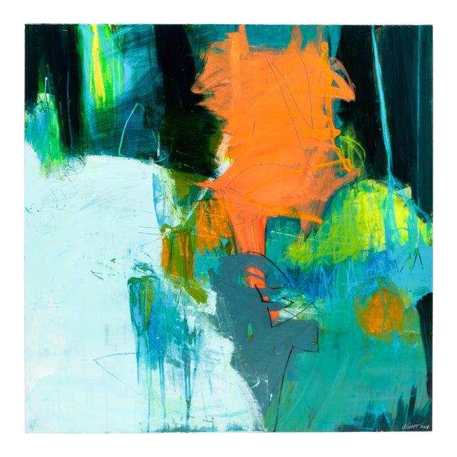 "Robin Crutcher Original ""Peachy Keen"" Painting For Sale"