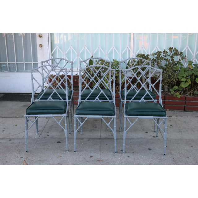 Venemen Outdoor Cast Iron Patio Set For Sale - Image 12 of 13
