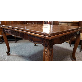 French Walnut Parquet Top Dining Table C.1920 Preview