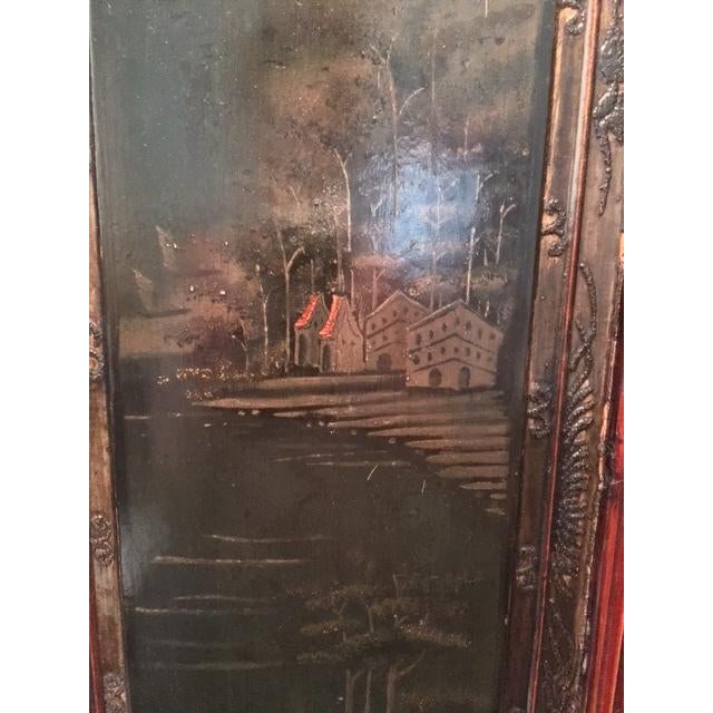 Antique Asian Two-Piece Cabinet - Image 4 of 4