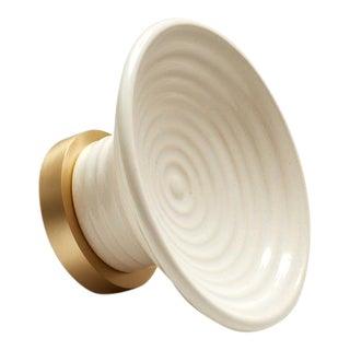 Nest Studio Collection Glaze-02 Soft White Knob For Sale