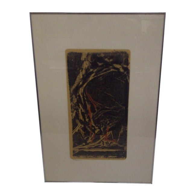 """Flehion"" Vintage Print by B. K. Johnston - Image 1 of 6"