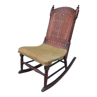 Admirable Vintage Used Antique Rocking Chairs For Sale Chairish Forskolin Free Trial Chair Design Images Forskolin Free Trialorg
