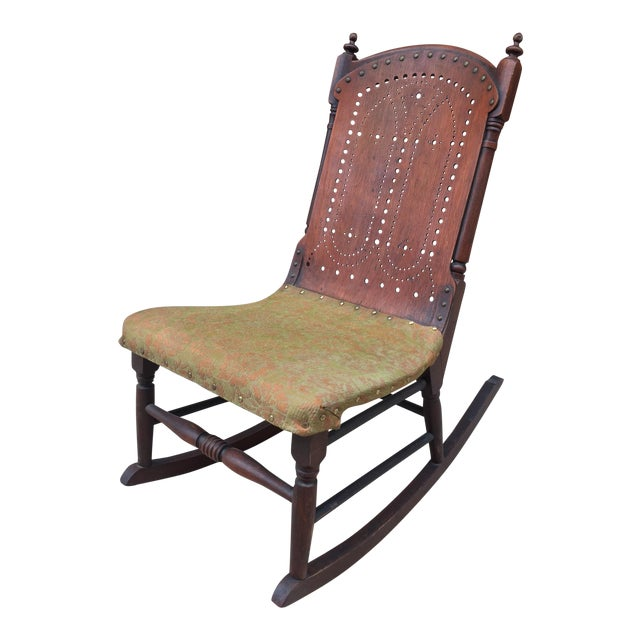 *Last Chance* Antique Victorian Child's Rocking Chair For Sale