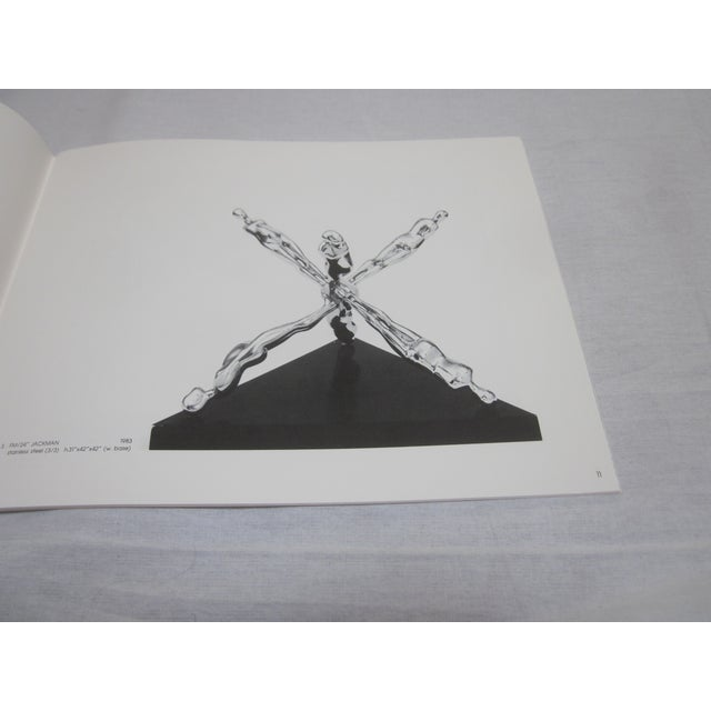 "Ernest Trova ""Falling Man, Poets Pyramids"" Book - Image 4 of 5"