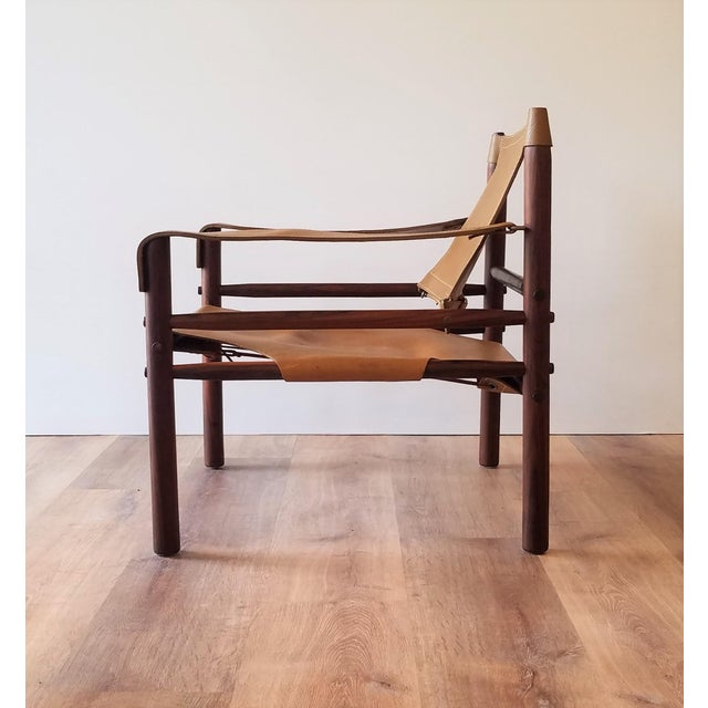 Arne Norell Vintage Sirocco Chair by Arne Norell For Sale - Image 4 of 13