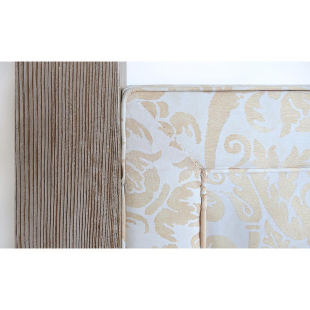 Arts & Crafts Arts and Crafts Tommi Parzinger Cerused King Size Headboard For Sale - Image 3 of 7