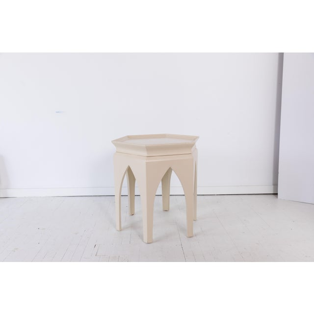 Moroccan Style Baker Furniture Side Table
