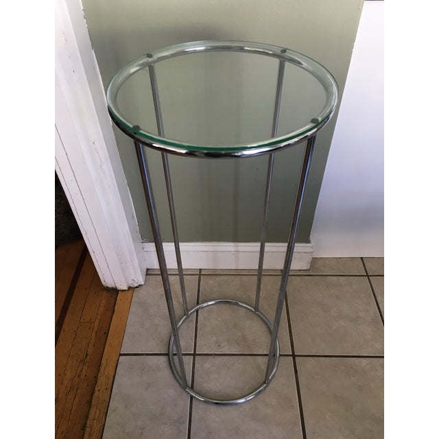 Vintage Chrome Stand - Image 2 of 3