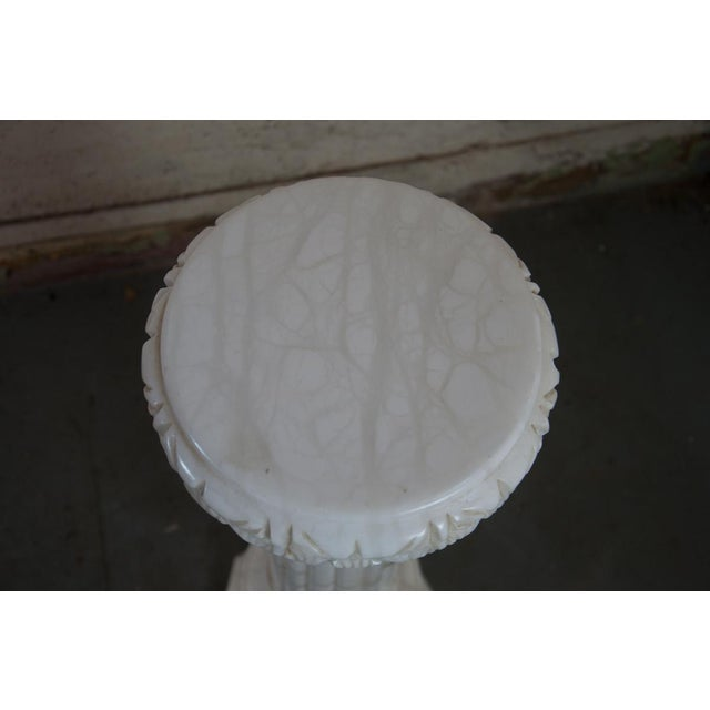 Marble French Marble Pedestal For Sale - Image 7 of 7