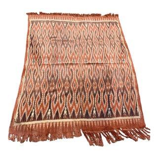 Vintage Indian Throw For Sale