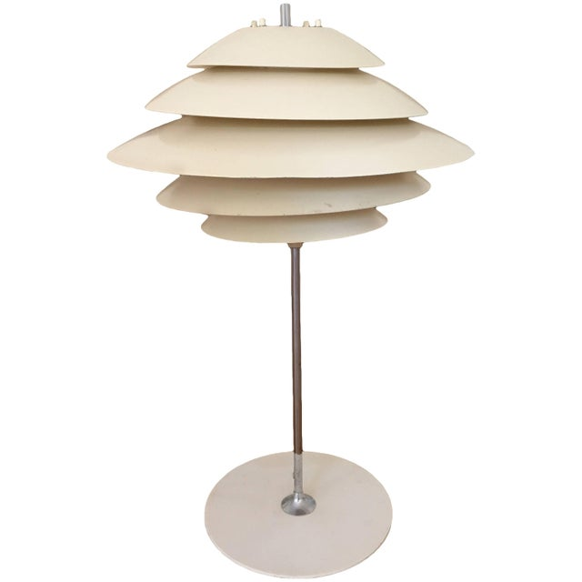 Poul Henningsen Style Table Lamp by Sonneman For Sale In Pittsburgh - Image 6 of 6