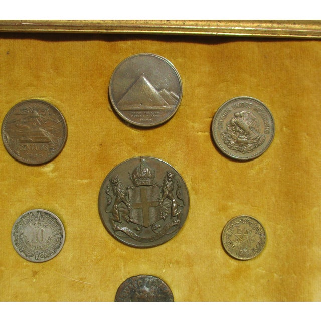 Medallion and Coin Framed Collection For Sale In New York - Image 6 of 7