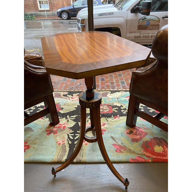 19th Century Federal Style Candlestand Table For Sale In Boston - Image 6 of 6