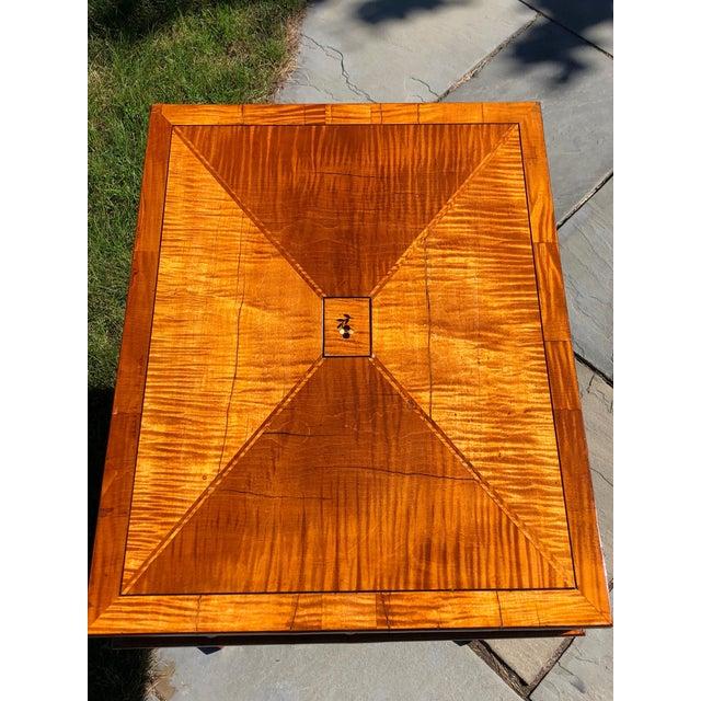 Biedermeier Side Table, Biedermeier Period For Sale - Image 3 of 11