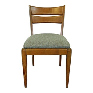 Mid-Century Modern Heywood Wakefield 'Cat's Eye' Champagne Dining Chair For Sale