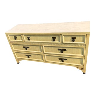 Dixie Shangri La Dresser and Matching Nightstand - 2 Pc. Set