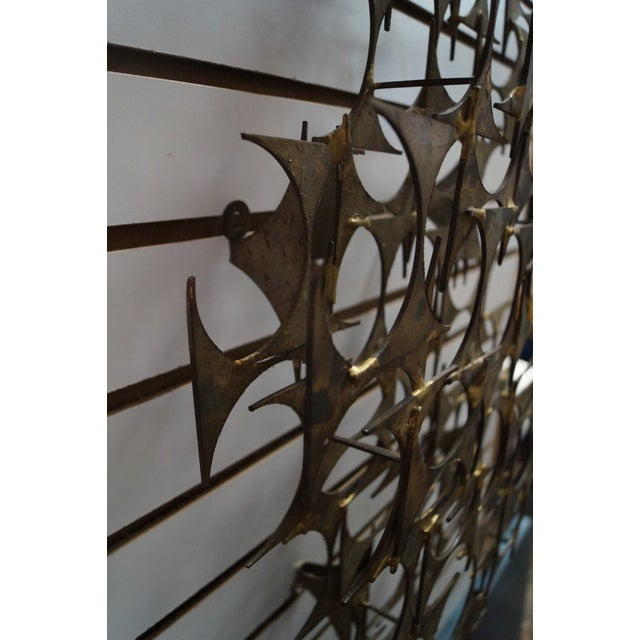 Marc Creates Mid-Century Modern Wall Sculpture For Sale - Image 7 of 10