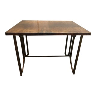 Aldo Tura Italian Goat Skin Tables - a Pair For Sale