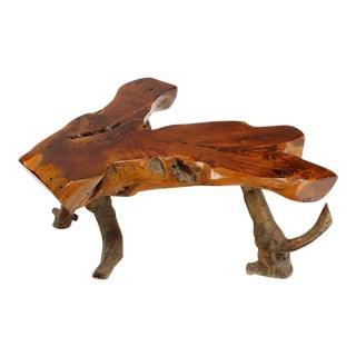 Driftwood Coffee Table For Sale
