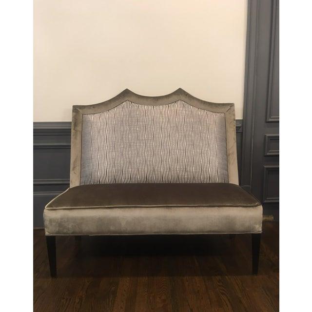 Transitional Custom Made Designer Bench For Sale - Image 9 of 9