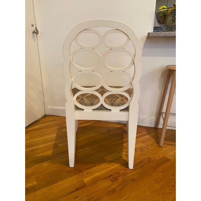 Modern Loop Dining Chairs- Set of 6 For Sale - Image 4 of 8